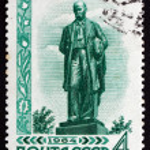 Postage stamp Russia 1964 Taras Hryhorovych Shevchenko, Poet — Stock Photo #42249115