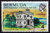 Postage stamp Bermuda 1970 State House, St. George's — Stock Photo