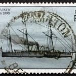 Постер, плакат: Postage stamp Bermuda 1986 HMS Vixen Shipwreck