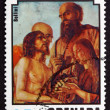 Postage stamp Grenada 1975 Descent from the Cross, by Bellini — Stock Photo