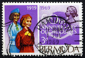 Postage stamp Bermuda 1969 Bermuda Girl Guides — Stock Photo