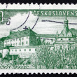 Postage stamp Czechoslovakia 1955 Jindrichuv Hradec, Town — Stock Photo