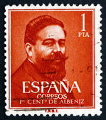 Postage stamp Spain 1960 Isaac Albeniz, Spanish Composer — Stock Photo