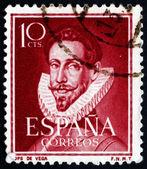 Postage stamp Spain 1951 Lope de Vega, Poet — Stock Photo