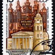 Postage stamp Russia 1990 Cathedral, Vilnius, Lithuania — Stock Photo #42624211
