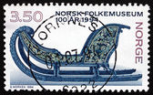 Postage stamp Norway 1994 Sled, 1750 — Stock Photo