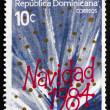 Postage stamp Dominican Republic 1984 Christmas — Stock Photo