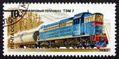 Postage stamp Russia 1982 TEP-7, Diesel Locomotive — Stock Photo