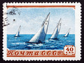 Postage stamp Russia 1954 Sailboat Race — Foto Stock