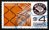 Postage stamp Mexico 1980 Tile, Mexican Export — Stock Photo
