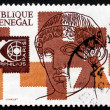 Postage stamp Senegal 1975 Apollo of Belvedere — Stock Photo
