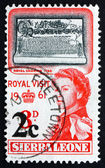Postage stamp Siera Leone 1961 Royal Charter, 1799 — Stock Photo