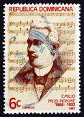 Postage stamp Dominican Republic 1982 Emilio Prud'Homme — Stock Photo