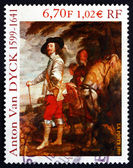 Postage stamp France 1999 Charles I, King of England, Painting — Stock Photo