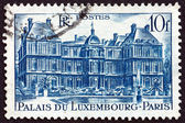 Postage stamp France 1946 Luxembourg Palace, Paris — Stock Photo