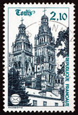 Postage stamp France 1985 Tours Cathedral — Stock Photo