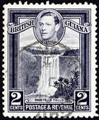 Postage stamp British Guiana 1949 Kaieteur Falls, Guyana — Stock Photo
