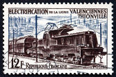 Postage stamp France 1987 Electric Train — Stock Photo