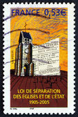 Postage stamp France 2005 Freedom of Religious Exercise — Stock Photo