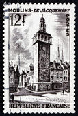 Postage stamp France 1987 Jacquemart of Moulins — Stock Photo