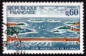 Postage stamp France 1966 Rance Power Station — Stock Photo