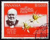 Postage stamp Panama 1966 Sir Winston Churchill — ストック写真