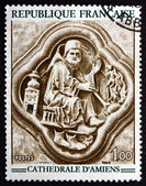 Postage stamp France 1969 February, Bas-relief — Stock Photo