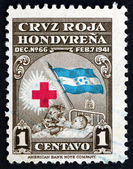 Postage stamp Honduras 1945 Mother and Child — Stock Photo