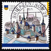 Postage stamp Germany 2002 Bautzen, Town in Eastern Saxony — Stock Photo