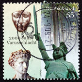 Postage stamp Germany 2009 Battle of the Teutoburg Forest — Stock Photo