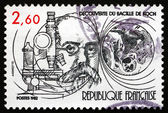 Postage stamp France 1982 TB Bacillus Discovered by Robert Koch — Stock Photo