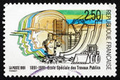Postage stamp France 1991 School of Public Works — Stock Photo