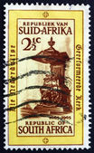 Postage stamp South Africa 1965 Pulpit, Groote Kerk Church — Stock Photo
