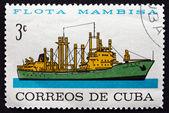 邮票古巴 1964年塞拉利昂 mastra 商船 — 图库照片