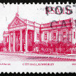 Postage stamp South Africa 1984 City Hall, Kimberley — Stock Photo