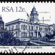 Postage stamp South Africa 1985 Port Elizabeth City Hall — Stock Photo