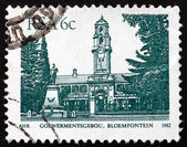 Postage stamp South Africa 1982 Goewermentsgebou, Bloemfontein — Stock Photo