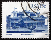 Postage stamp South Africa 1982 Hotel Milner, Matjesfontein — Stock Photo