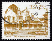 Postage stamp South Africa 1982 Melrose House, Pretoria — Stock Photo