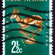 Postage stamp South Africa 1964 Rugby Board Emblem — Stock Photo #45742577