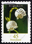 Postage stamp Germany 2011 Lily of the Valley, Flowering Plant — Photo