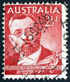 Postage stamp Australia 1948 Ferdinand von Mueller, Botanist — Stock Photo