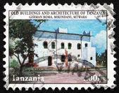 Postage stamp Tanzania 1980 German Boma, Mikindani, Mtwara — Stock Photo