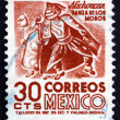 Postage stamp Mexico 1950 Indian Dancer, Michoacan — Stock Photo