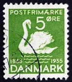 Postage stamp Denmark 1935 The Ugly Duckling, Fairy Tale — Stock Photo