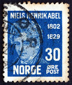 Postage stamp Norway 1929 Niels Henrik Abel, Mathematician — Stock Photo