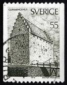 Postage stamp Sweden 1970 Glimmingehus, Skane Province — Stock Photo