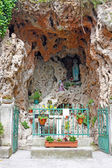 Virgin Mary grotto — Stock Photo