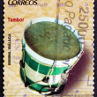 Postage stamp Spain 2013 Drum, Musical Instrument — Stock Photo