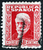 Postage stamp Spain 1931 Pablo Iglesias, Labour Leader — Stock Photo